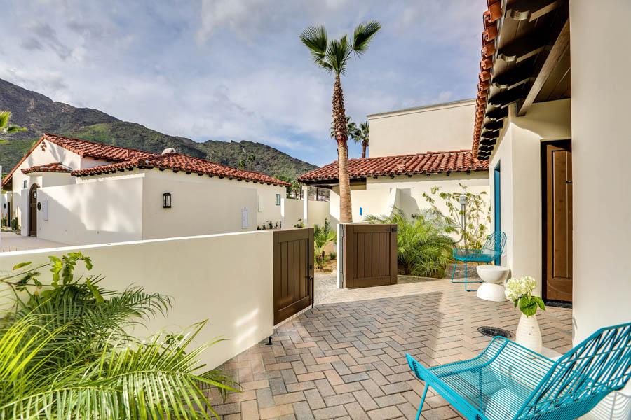 Room 11 La Serena Villas Palm Springs California Hotel